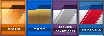 Cartões Roxos e Azuis Claros FIFA Ultimate Team