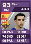 FIFA Ultimate Team Cartão Roxo - Xavi