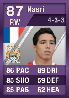 FIFA Ultimate Team Cartão Roxo - Samir Nasri
