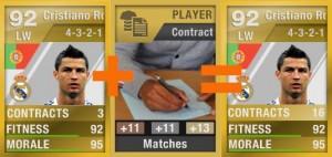 Consumíveis em FIFA Ultimate Team - Contratos