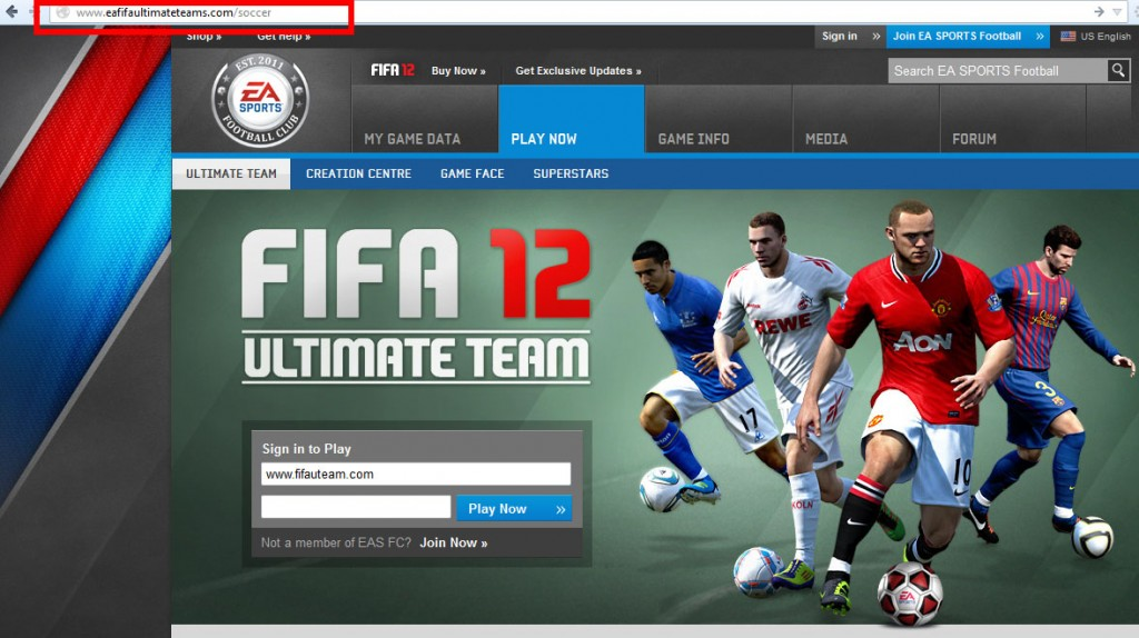 FIFA Ultimate Team Phishing
