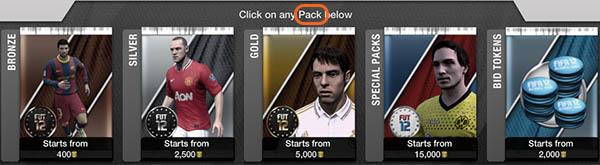 Termos e Abreviaturas FIFA Ultimate Team - Pack