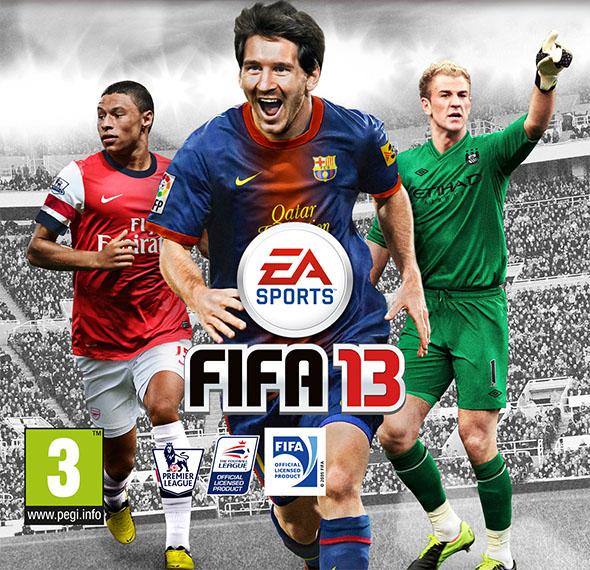 Covers Internacionais de FIFA 13 - UK