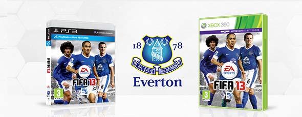 FIFA 13 Custom Club Covers - Everton