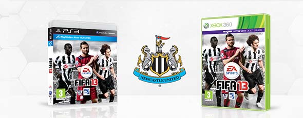 FIFA 13 Custom Club Covers - Newcastle