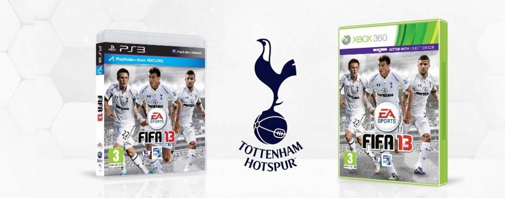 FIFA 13 Custom Club Covers - Tottenham Hotspurs