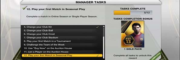 Manager Tasks Number 12