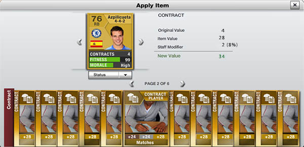 FIFA 13 Ultimate Team Staff - Manager Example