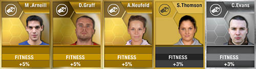 FIFA 13 Ultimate Team - Fitness Coaches