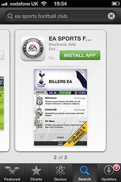 FUT 13 iPhone App - Instalation
