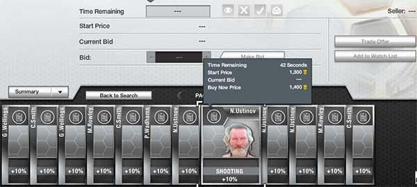 FIFA 13 Ultimate Team Price Fixing