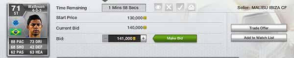 FIFA 13 Ultimate Team Trading