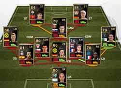 FIFA 13 Ultimate Team - Team of the Week 23 (TOTW 23)
