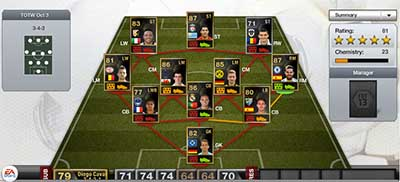 FIFA 13 Ultimate Team - Team of the Week 3 (TOTW 3)