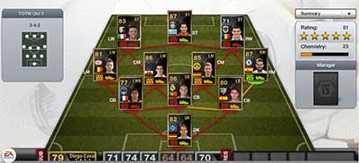 FIFA 13 Ultimate Team - Team of the Week 3 (TOTW 3)
