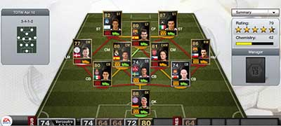 FIFA 13 Ultimate Team - Team of the Week 30 (TOTW 30)