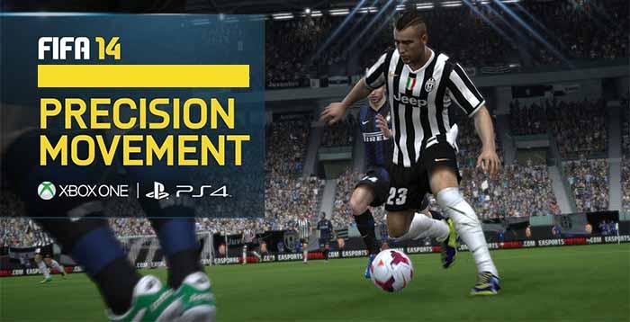 Movimento Preciso em FIFA 14