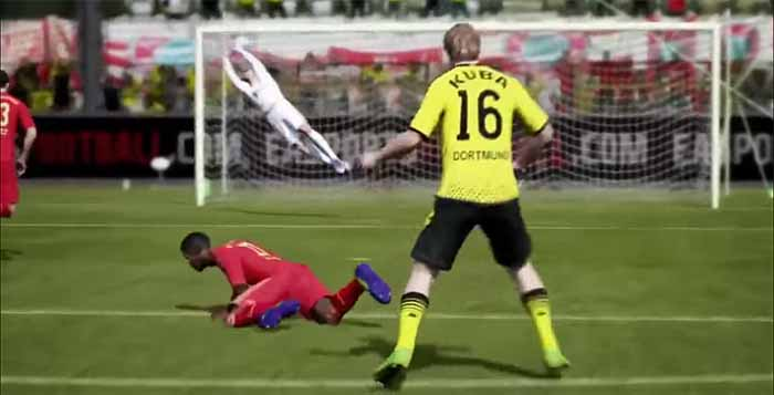 Next-Gen FIFA 14 Gameplay Video