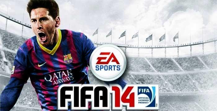 Capa de FIFA 14 - Versão Internacional
