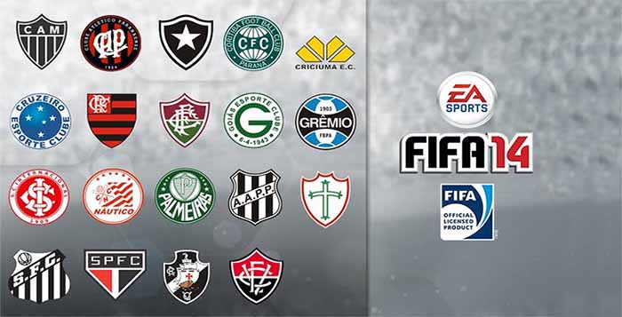 Sixteen Brazilian Teams Included into FIFA 16