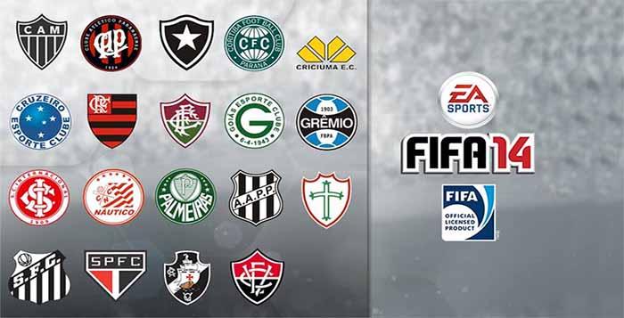 Que Times Brasileiros Estarão em FIFA 14 ?