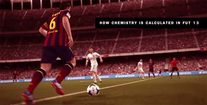 Como é Calculada a Química em FIFA 13 Ultimate Team