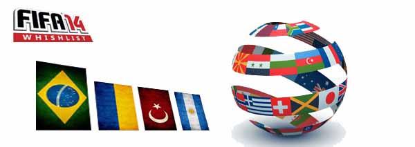 Lista de Desejos para FIFA 14: Que Novas Ligas a Comunidade Quer