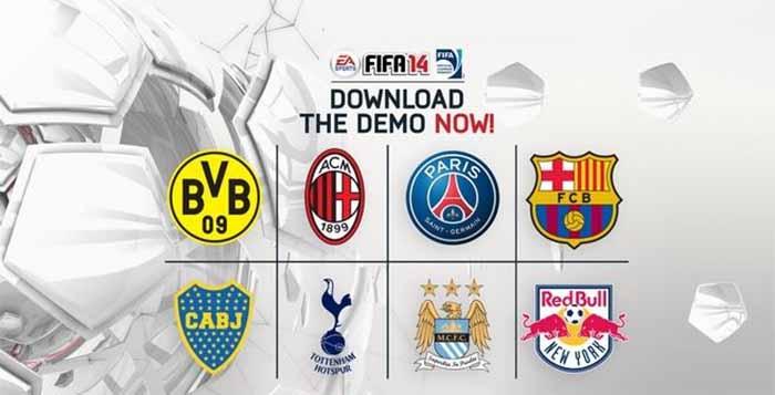 Demo de FIFA 14 - Data, Links para Download e Outras Informações Úteis