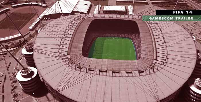 Apresentado novo vídeo de FIFA 14 na Gamescom 2013