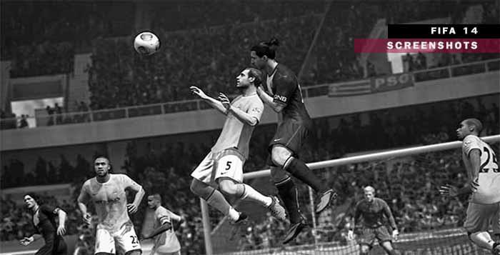 Lançados Novos Screenshots de FIFA 14 em Alta Resolução