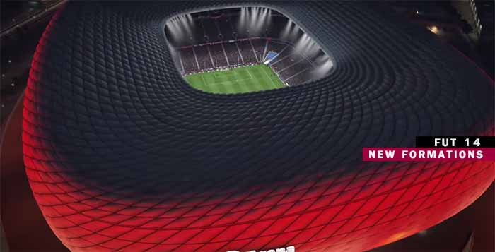 As Nove Novas Táticas Que Poderá Escolher em FIFA 14 Ultimate Team