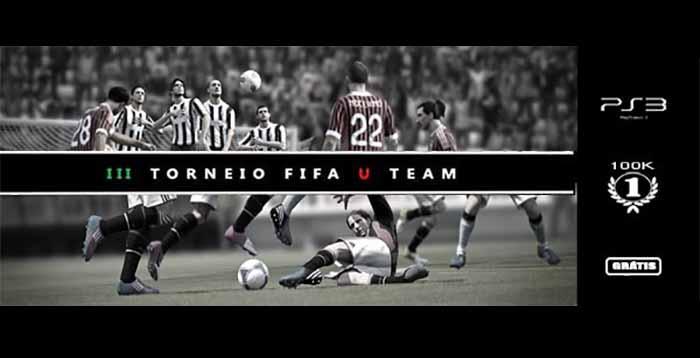 III Torneio FIFA U Team para Playstation 3 - Grátis e com Prémios