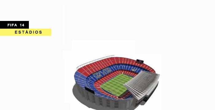 Estádios de FIFA 14 - Os Estádios Incluídos em FIFA 14, Um por Um