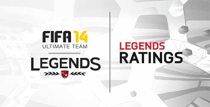 Ratings e Skills dos Jogadores Legends de FIFA 14 Ultimate Team