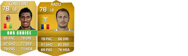 Guia da Serie A para FIFA 14 Ultimate Team - LB