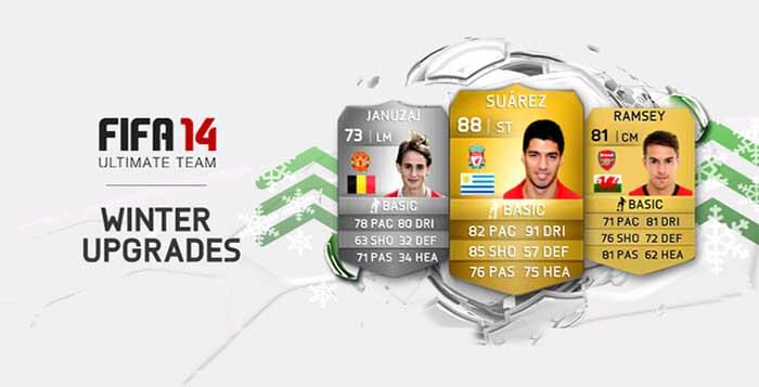 Lista Completa de Cartas UP de Jogadores em FIFA 14 Ultimate Team