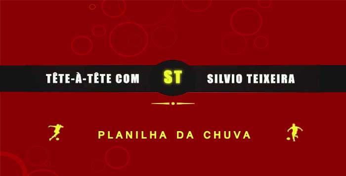 Tête a Tête com Silvio Teixeira: Planilha na Chuva !
