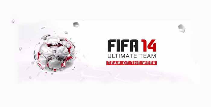 Equipa da Semana - Todas as TOTW de FIFA 14 Ultimate Team