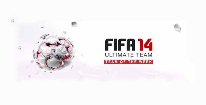 Equipa da Semana - Todas as TOTW de FIFA 14 Ultimate Team