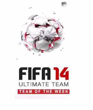 TOTW of FIFA 14 Ultimate Team