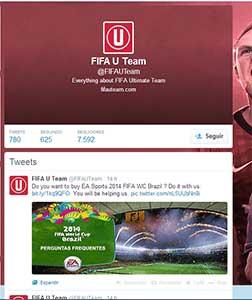 FIFA U Team Twitter Page