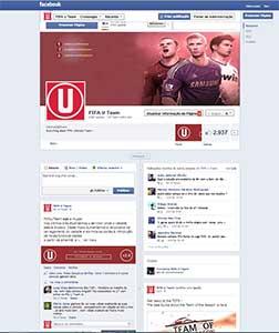 FIFA U Team Facebook Page