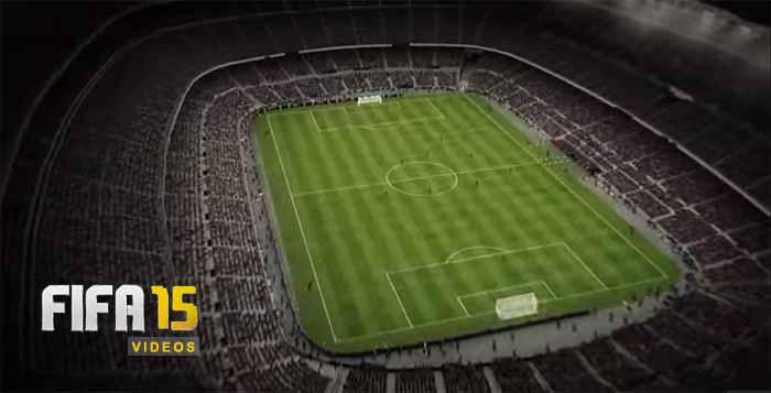 Assista a todos os Vídeos e Trailers de FIFA 15 num Único Local