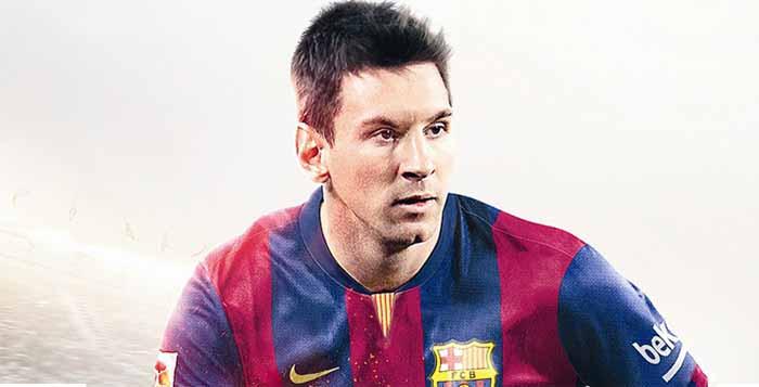 Capa de FIFA 15 - Versão Internacional