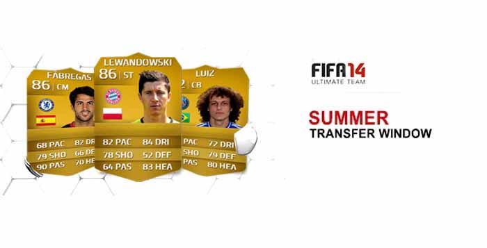 Lista de Transferências de Verão de FIFA 14 Ultimate Team
