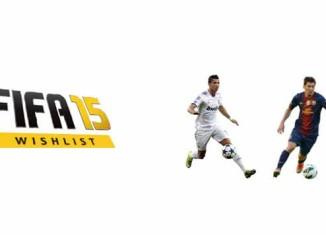 Lista de Desejos para FIFA 15: Novos Ratings de Jogadores