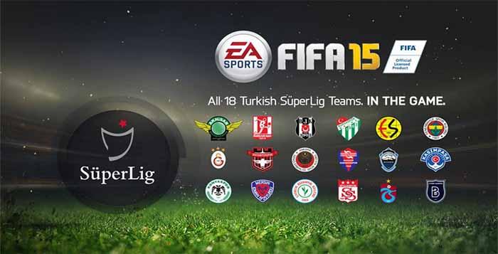 Liga Turca regressa totalmente licenciada em FIFA 15