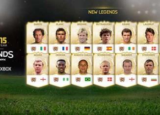 FIFA 15 Apresenta Novas Lendas para FIFA 15 na XBox