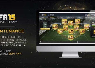 Web App de FIFA 15 anunciada para dia 17