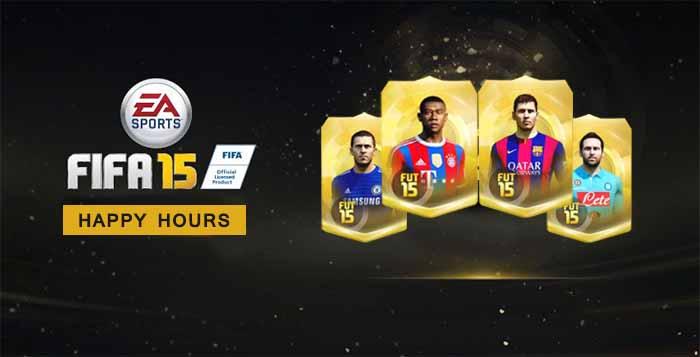 Todas as Happy Hours de FIFA 15 Ultimate Team